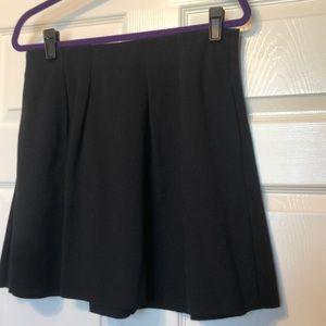 Madewell navy skirt
